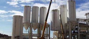 INTERMEDIATE STORAGE SILOS LIME FACTORY CEFAS ( An Argentinian leader lime company)
